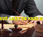 Luật sư tư vấn thủ tục khởi kiện và giải quyết tranh chấp tại tòa án